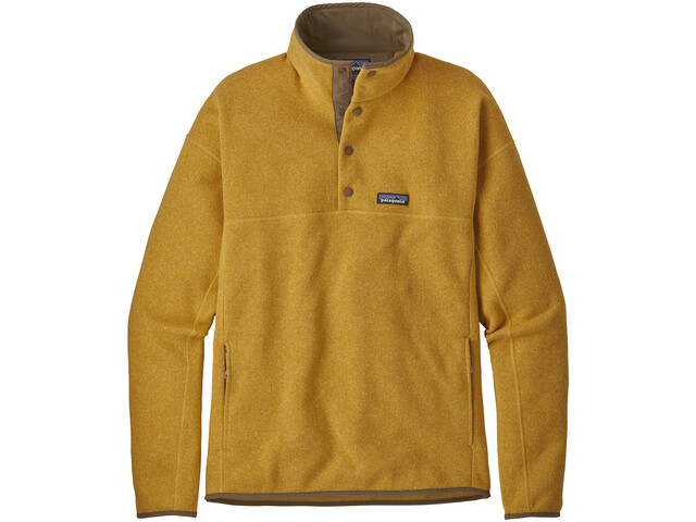 Patagonia LW Better Marsupial Sweater Pullover Herr surfboard yellow